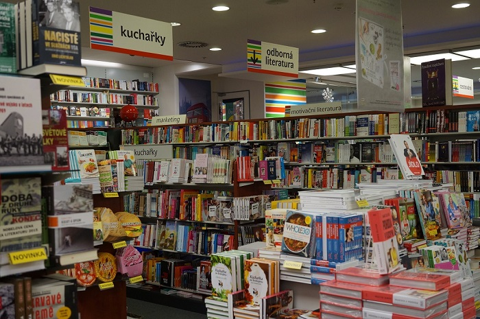Книжный рынок в Чехии